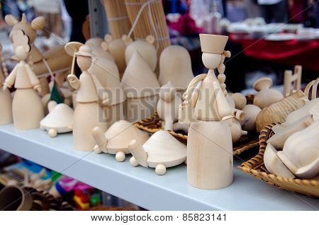 Homemade Wooden Toys