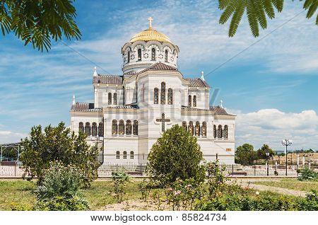 Vladimir Cathedral In Tauric Chersonesos, Sevastopol City