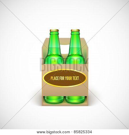 Packaging of beer.