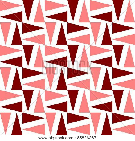 Seamless Triangle Pattern. Vector Regular Texture