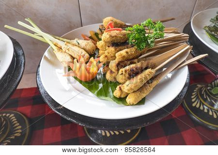 Plate Of Satay