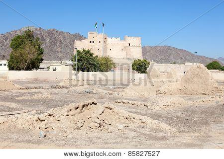 Historic Fort In Fujairah