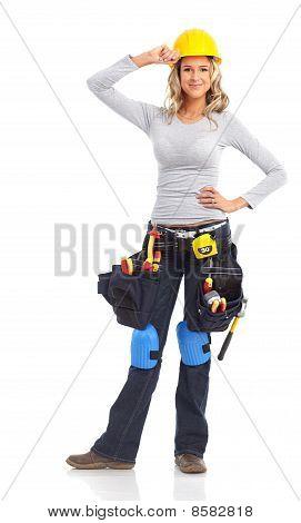 Construtor mulher