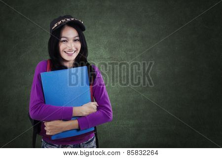 Student With A Casual Clothes Style In Class