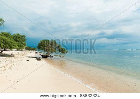 Indonesian beach