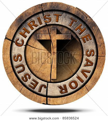 Jesus Christ The Savior - Wooden Symbol