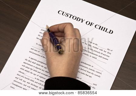 Custody of child