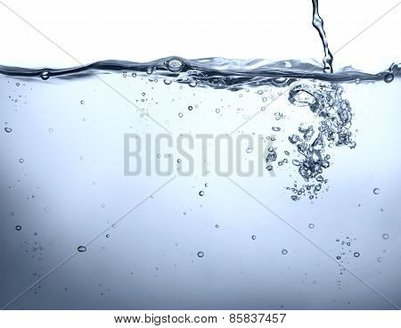 potable water - underwater background