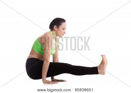 Celibate's Yoga Pose