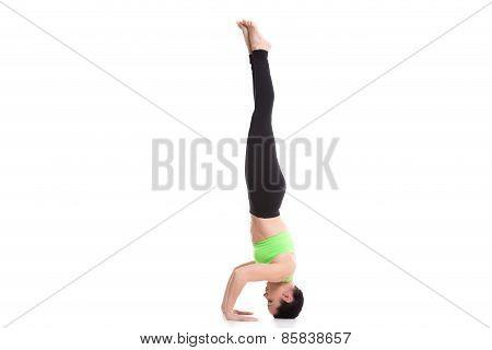 Salamba Sirsasana Yoga Asana