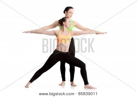 Yoga With Coach, Virabhadrasana 2