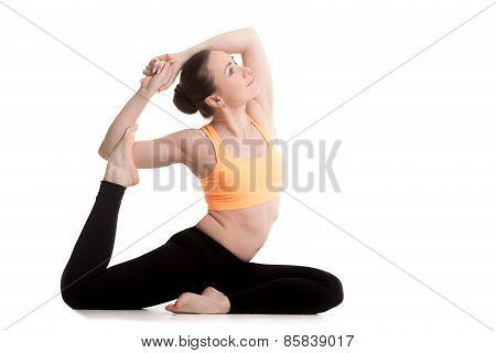 Rajakapotasana Yoga Pose