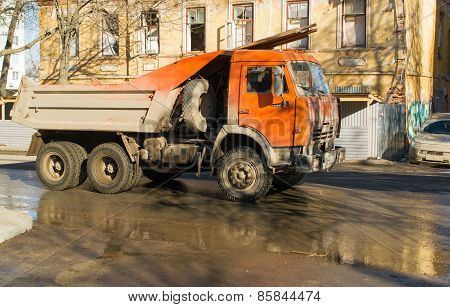 Kamaz On A Road