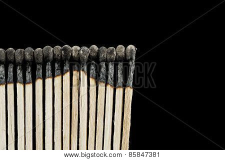 Burnt Matches