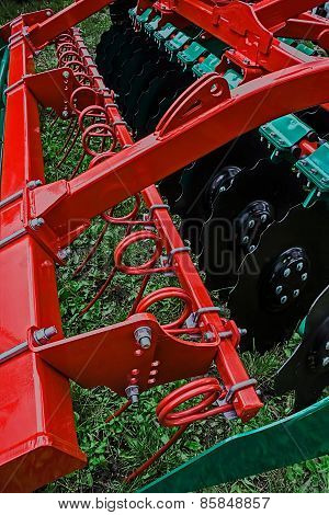 Agricultural Equipment. Detail 202