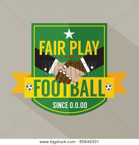 Fair Play Badge Label.