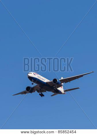 Passenger Plane Boeing 777