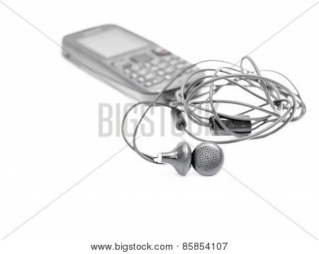 A Pair Of Earphone