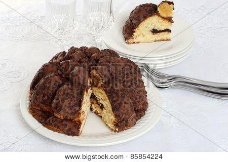 holiday chocolate Panettone