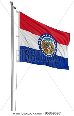 3D Missouri Flag