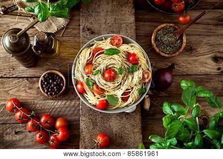 Pasta And Tomato Soup