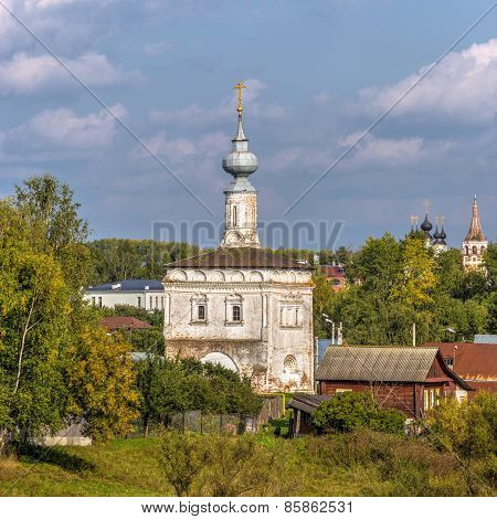 Tikhvin Church In Suzdal. Russia