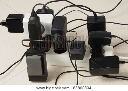 Battery Chargers And Extension Cord