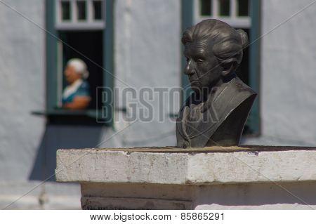 Brazilian Statue Poetess - Cora Coralina