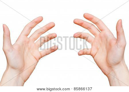 Hands From First Person Point Of View