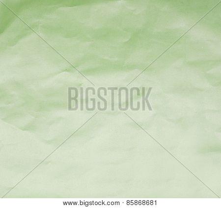 Paper Texture. Green Paper Sheet.