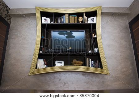 Wall Shelf For Living Room Interior Design