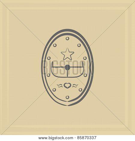 Emblem Of An Airplane