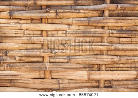 woven bamboo surface, background