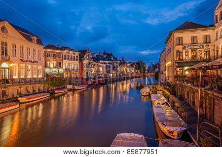 Canals in Gent