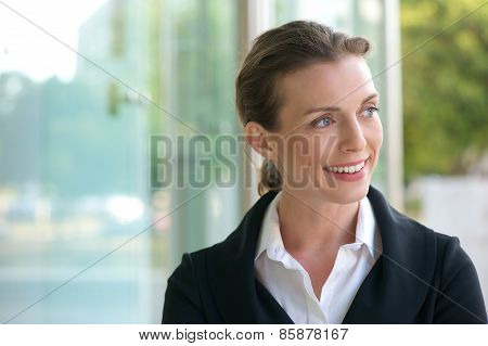 Career Business Woman Smiling