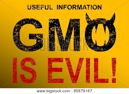 GMO is evil