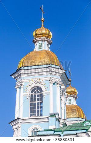 St. Nicholas Naval Cathedral, Saint-petersburg