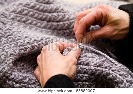 Hands And Knitwear