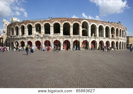 Antique Amphitheater In Verona