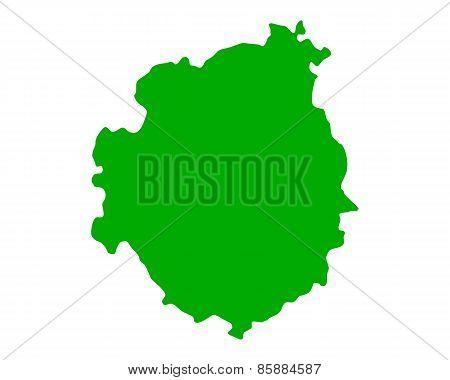 Map Of Brava