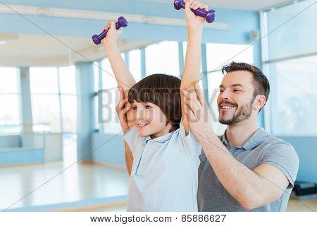 Exercising With Fun.