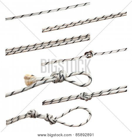 strings isolated on a white background