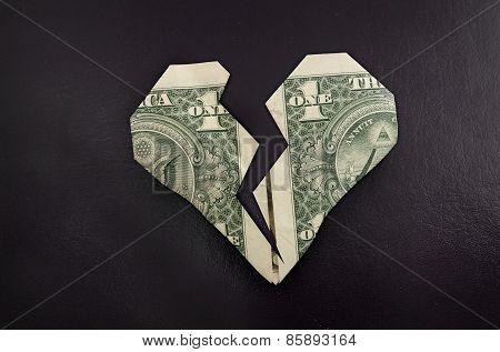 Broken Dollar Heart