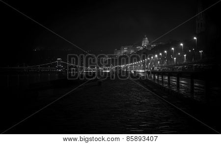 Budapest City in the night