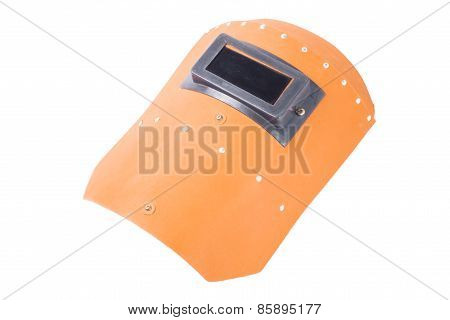 orange Welding mask
