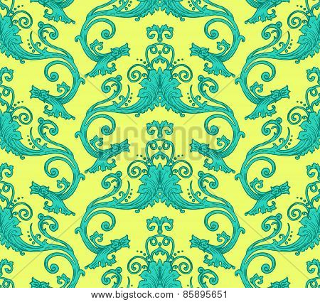 Antique Victorian Seamless Pattern
