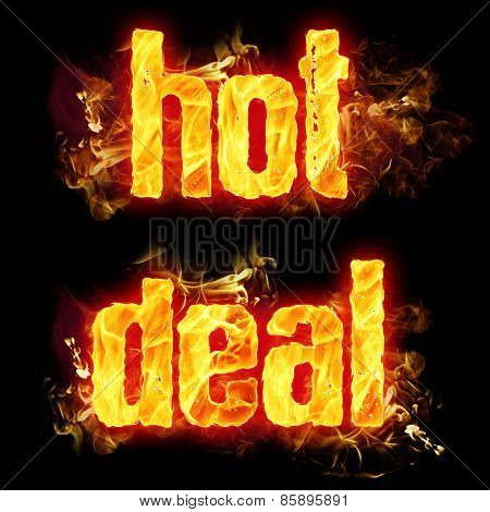 Fire Text Hot Deal