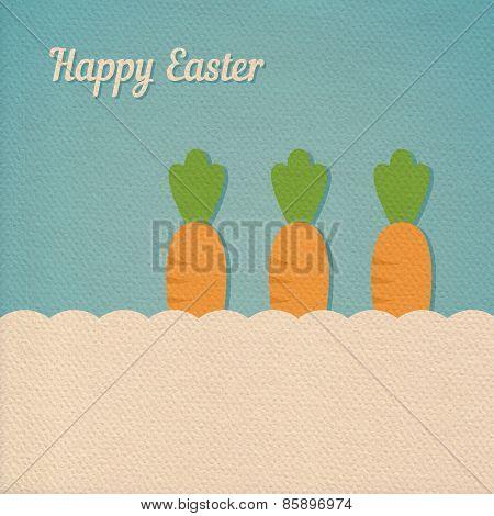 Easter Carrot Card