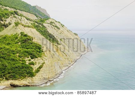 Beautiful Beach Bay  Coast Of The Sea With Rocks