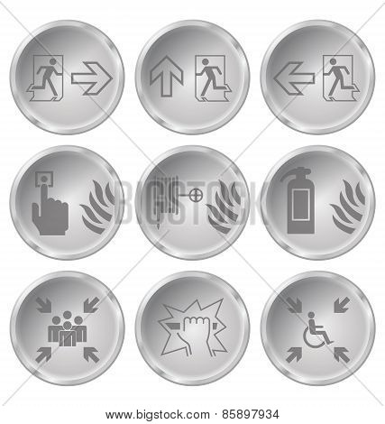 Fire Escape Icons